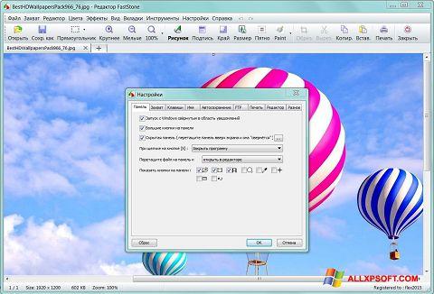 Screenshot FastStone Capture für Windows XP