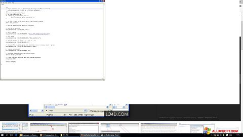 Screenshot AkelPad für Windows XP