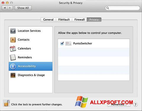 Screenshot Punto Switcher für Windows XP
