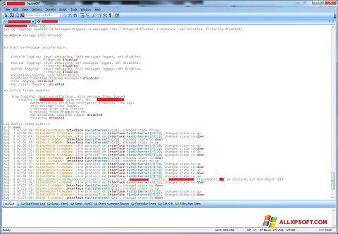 Screenshot SecureCRT für Windows XP
