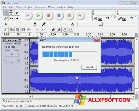 Screenshot Lame MP3 Encoder für Windows XP