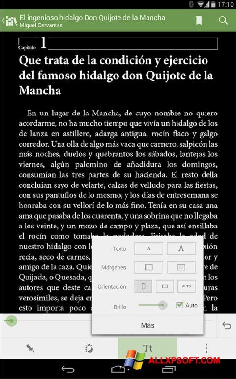 Screenshot BookReader für Windows XP