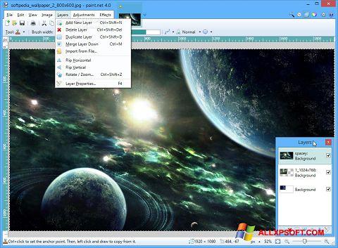 Screenshot Paint.NET für Windows XP